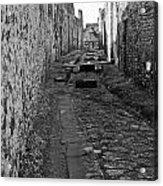 Alleyway Acrylic Print by Marion Galt