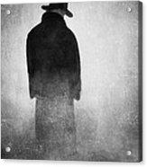 Alone In The Fog 2 Acrylic Print by Gun Legler
