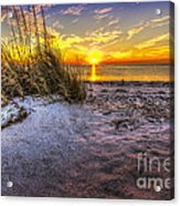 Ambience Of The Gulf Acrylic Print by Marvin Spates