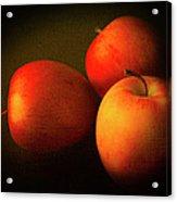 Ambrosia Apples Acrylic Print by Theresa Tahara