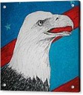 American Eagle Acrylic Print by Maricay Smeenk
