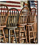 Americana Acrylic Print by Heather Applegate
