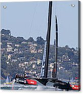 America's Cup Oracle 2013 Acrylic Print by Steven Lapkin