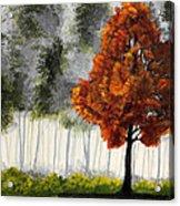 Among The Greens Acrylic Print by Nirdesha Munasinghe