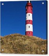 Amrum Lighthouse Acrylic Print by Angela Doelling AD DESIGN Photo and PhotoArt