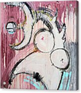 An Allegory Of Things Unknown 7 Acrylic Print by Mark M  Mellon