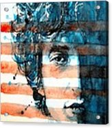 An American Icon Acrylic Print by Paul Lovering