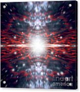 An Artists Depiction Of The Big Bang Acrylic Print by Marc Ward