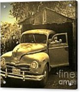 An Old Hidden Gem Acrylic Print by John Malone