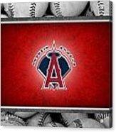 Anaheim Angels Acrylic Print by Joe Hamilton