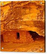 Anasazi Ruins  Acrylic Print by Jeff Swan