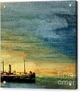 Anchorage Acrylic Print by R Kyllo