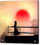 And The Sun Also Rises Acrylic Print by Bob Orsillo
