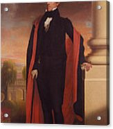 Andrew Jackson Standing Acrylic Print by War Is Hell Store