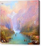 Anduin The Great River Acrylic Print by Joe  Gilronan