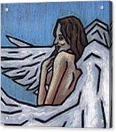 Angel Acrylic Print by Kamil Swiatek