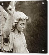 Angel Of Comfort Acrylic Print by Terry Rowe