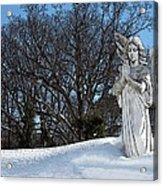 Angel Of Eternal Sunshine Acrylic Print by Teak  Bird