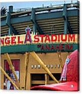 Angel Stadium Acrylic Print by Ricky Barnard