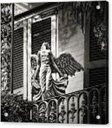 Angels  Acrylic Print by Brenda Bryant