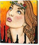 Anima Sola Acrylic Print by Nora Blansett