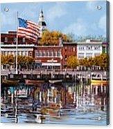 Annapolis Acrylic Print by Guido Borelli