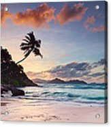 Anse Severe Acrylic Print by Michael Breitung