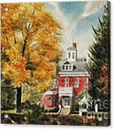 Antebellum Autumn Ironton Missouri Acrylic Print by Kip DeVore