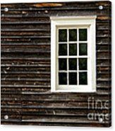 Antique Window Acrylic Print by Olivier Le Queinec