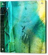 Aphrodite's First Love - Guitar Art By Sharon Cummings Acrylic Print by Sharon Cummings