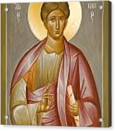 Apostle Philip Acrylic Print by Julia Bridget Hayes