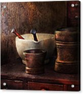 Apothecary - Pick A Pestle  Acrylic Print by Mike Savad