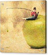Apple Dream Acrylic Print by Taylan Soyturk