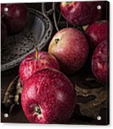 Apple Still Life Acrylic Print by Edward Fielding