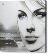 'aqua Marine' Acrylic Print by Christian Chapman Art