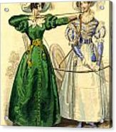 Archery Duchess Acrylic Print by Berlaz