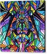 Arcturian Awakening Grid Acrylic Print by Teal Eye  Print Store
