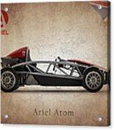 Ariel Atom Acrylic Print by Mark Rogan