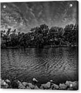 Arkansas River Panorama Acrylic Print by  Caleb McGinn