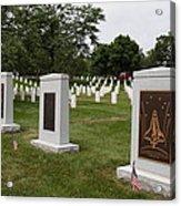 Arlington National Cemetery - 01138 Acrylic Print by DC Photographer