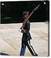 Arlington National Cemetery - Tomb Of The Unknown Soldier - 12124 Acrylic Print by DC Photographer