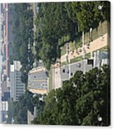Arlington National Cemetery - View From Arlington House - 12125 Acrylic Print by DC Photographer