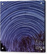 Arnold Startrails Acrylic Print by Benjamin Reed