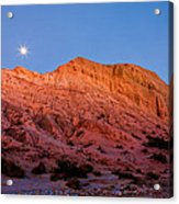 Arroyo Moonrise Acrylic Print by Peter Tellone