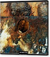 Art Work 206 Ship Rust Acrylic Print by Alexander Drum