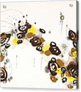 Aspen Celebration #3 Acrylic Print by Nadine Rippelmeyer