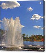 Aspetuck Reservoir Acrylic Print by Joann Vitali