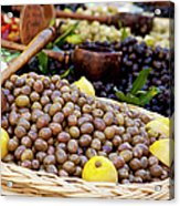 At The Market Acrylic Print by Brian Jannsen