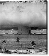 Atomic Bomb Test Acrylic Print by Mountain Dreams