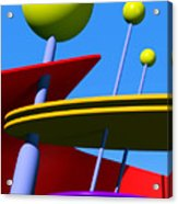 Atomic Dream Acrylic Print by Richard Rizzo